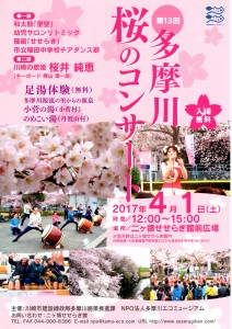 170401第13回多摩川桜のコンサート